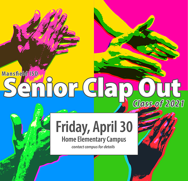 Senior Clap Out graphic