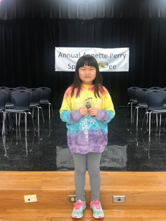 Perry Spelling Bee Winner 2018-2019